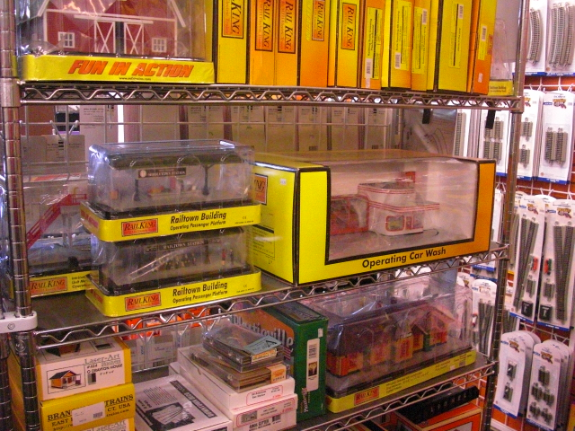 O scale buildings and accessories